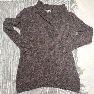 CABI | Chunky Brown Earthtone Sweater